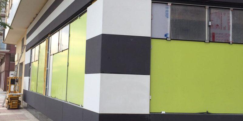 Rehabilitación de fachadas con microcemento