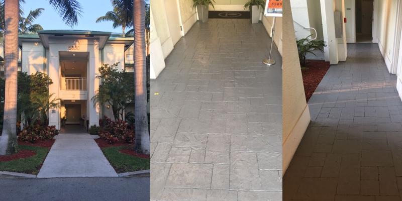 Rehabilitación de los espacios comunes de un hotel en Miami