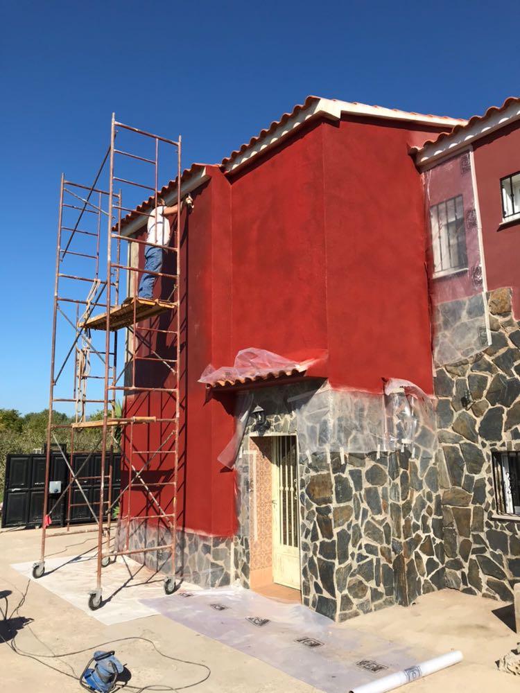 Revestimiento de fachadas con ISOLATE CyC Bioconstruccin